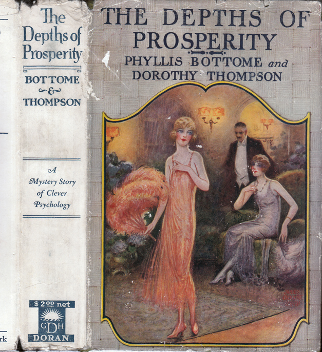 The Depths of Prosperity. Phyllis BOTTOME, Dorothy THOMPSON.