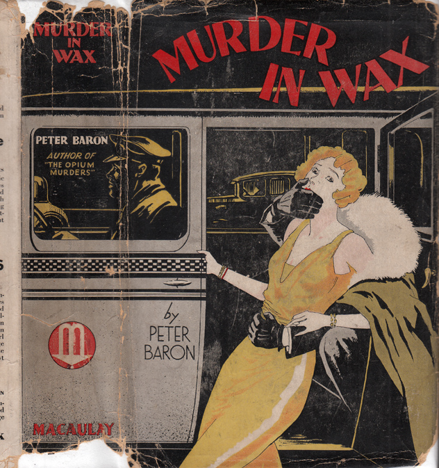Murder in Wax. Peter BARON