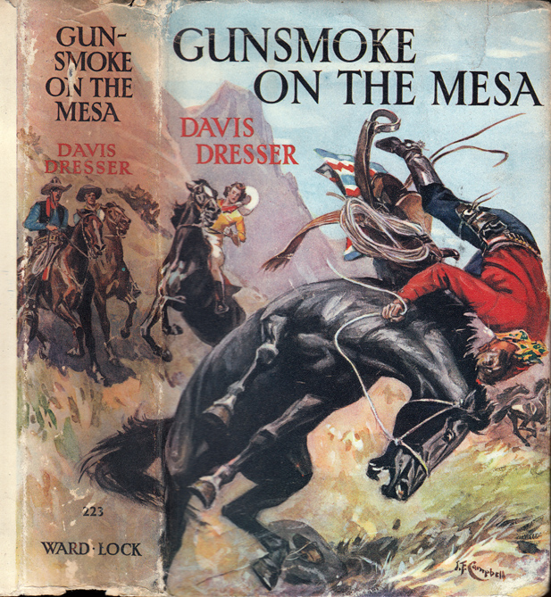 Gunsmoke On the Mesa. Davis DRESSER, Brett HALLIDAY