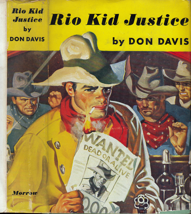 Rio Kid Justice. Don DAVIS, Brett HALLIDAY / David DRESSER