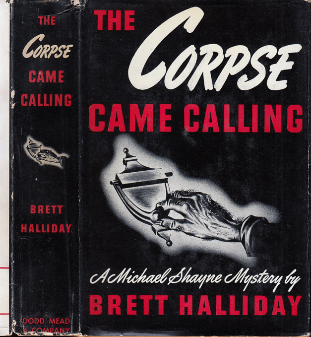 The Corpse Came Calling. Brett HALLIDAY.