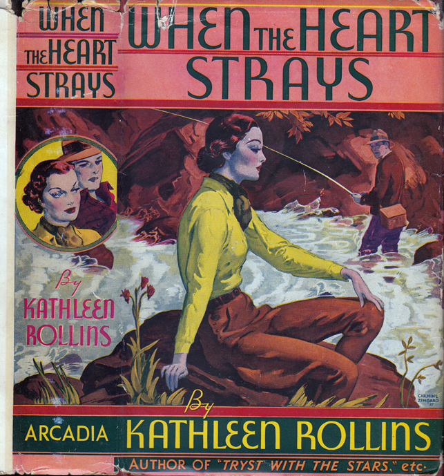 When The Heart Strays. Kathleen ROLLINS, Brett HALLIDAY.