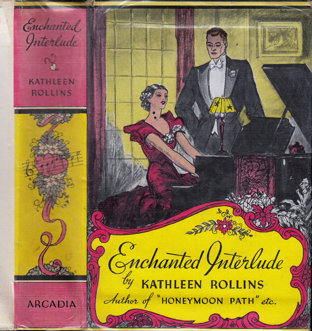 Enchanted Interlude [SIGNED AND INSCRIBED]. Kathleen ROLLINS, Brett HALLIDAY