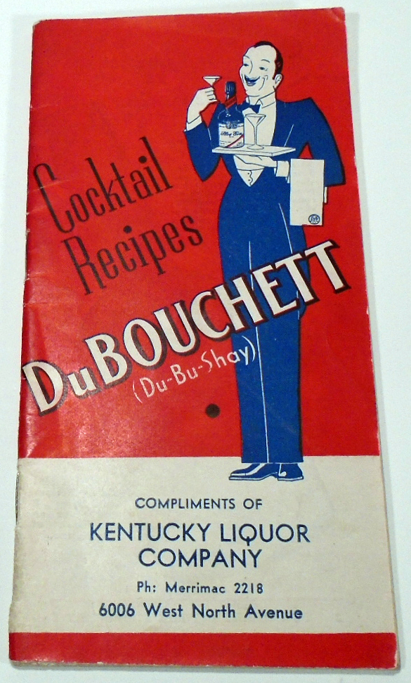DuBouchett Cocktail Recipes. BLANC AND CO MANY