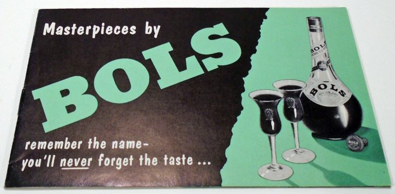 Masterpieces by Bols [COCKTAIL RECIPES]. BOLS.