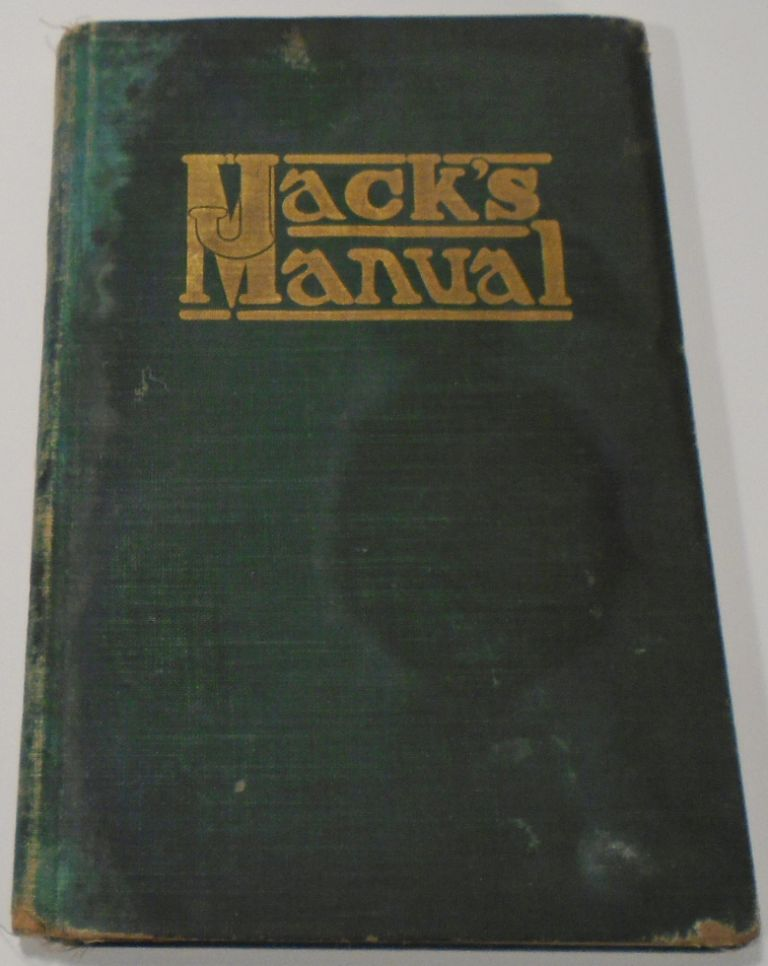 Jack's Manual on the Vintage and Production, Care and Handling of Wines, Liquors, Etc. A Handbook...