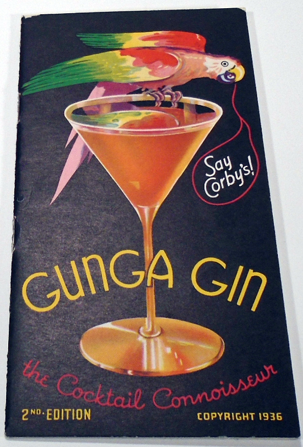 Gunga Gin, The Cocktail Connoisseur. THOM.