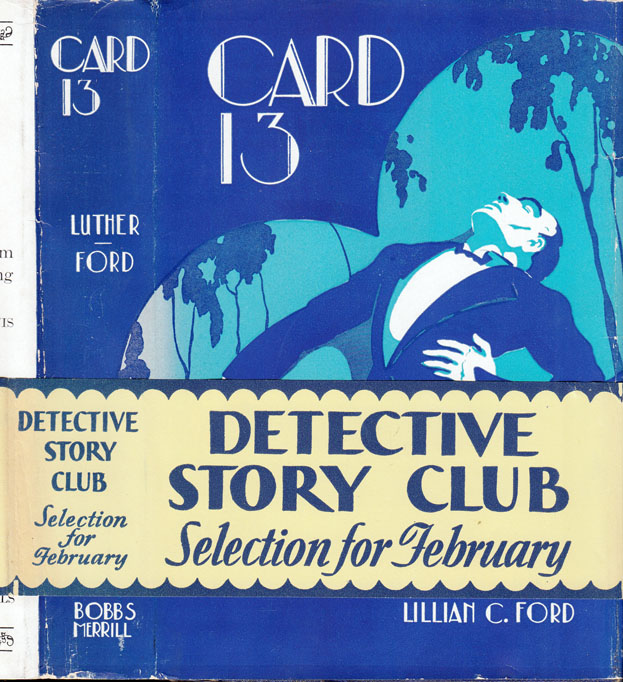 Card 13 [HOLLYWOOD MYSTERY]. Mark Lee LUTHER, Lillian C. FORD