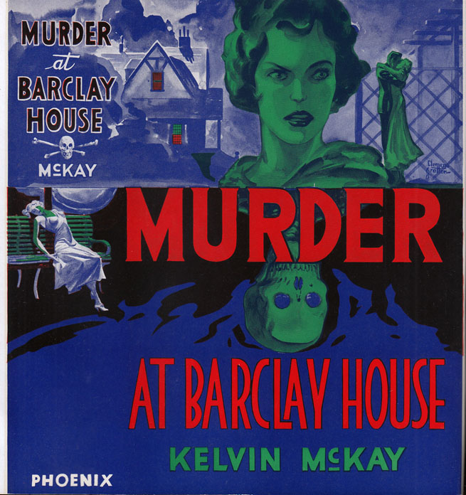 Murder at Barclay House. Kelvin MCKAY.