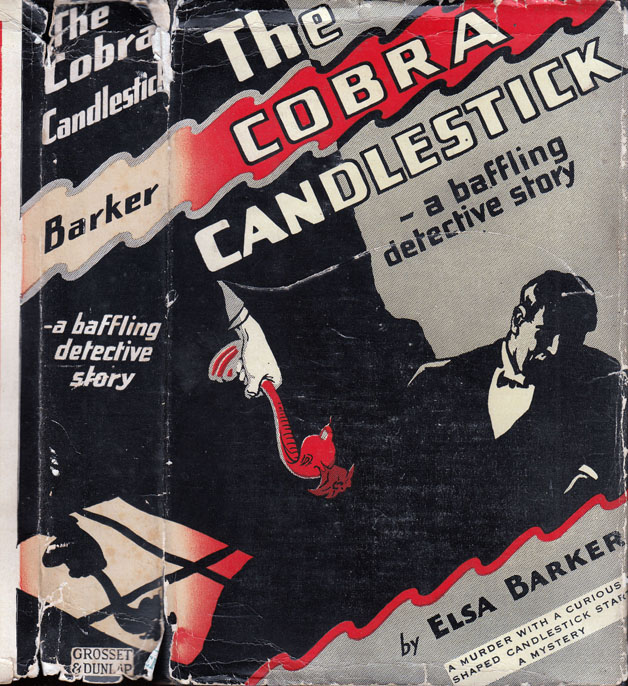 The Cobra Candlestick. Elsa BARKER