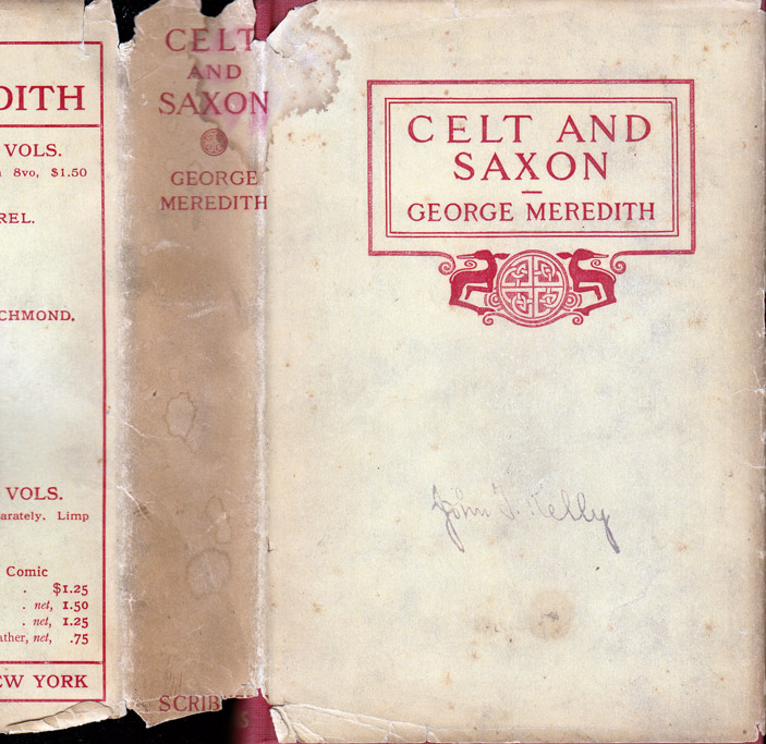 Celt and Saxon. George MEREDITH