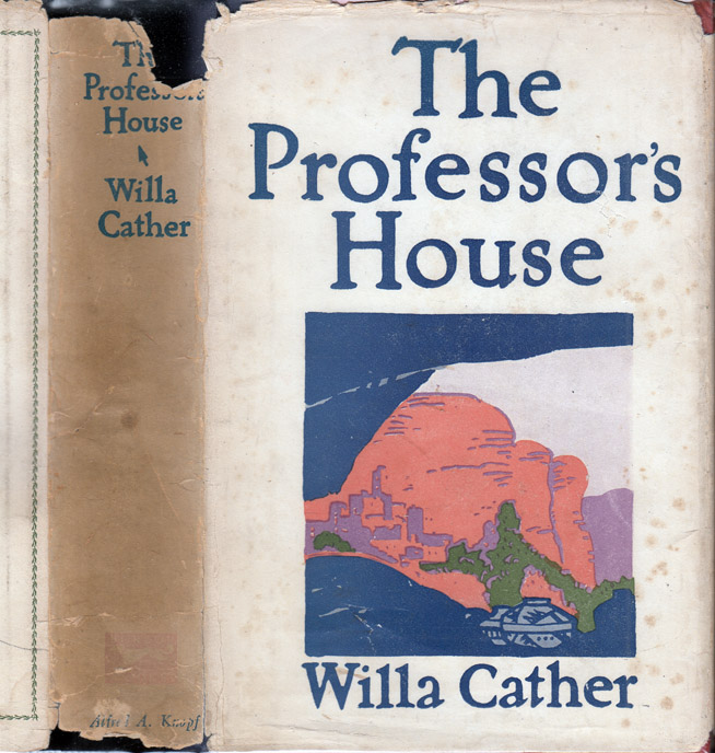 The Professor's House. Willa CATHER.