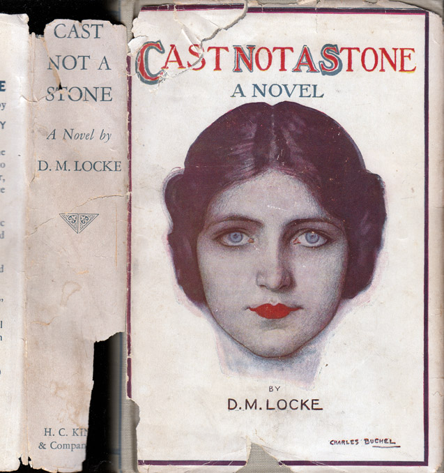 Cast Not a Stone [SOUTH AFRICA NOVEL]. D. M. LOCKE