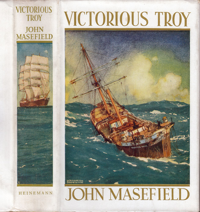Victorious Troy or The Hurrying Angel. John MASEFIELD