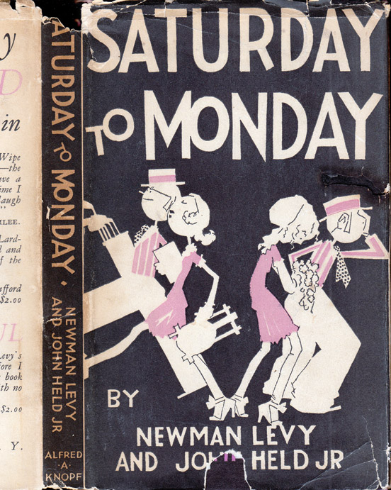 Saturday to Monday. Newman LEVY, John HELD Jr