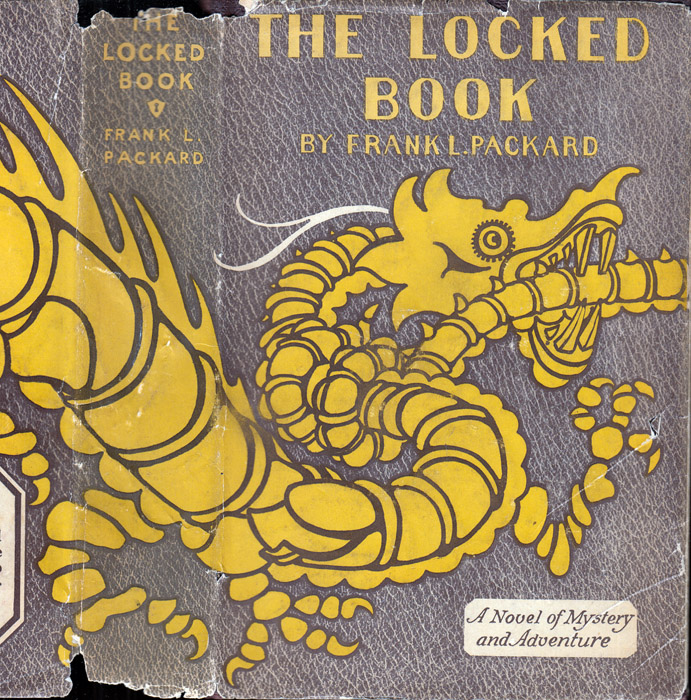 The Locked Book [BIBLIO-MYSTERY]. Frank L. PACKARD