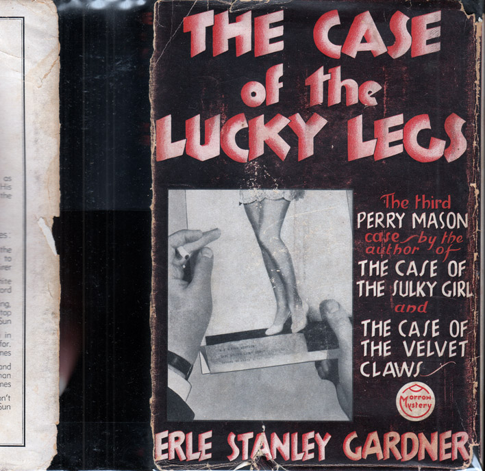 The Case of the Lucky Legs. Erle Stanley GARDNER