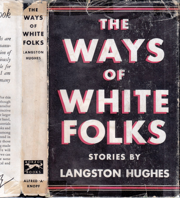 The Ways of White Folks [SIGNED]. Langston HUGHES