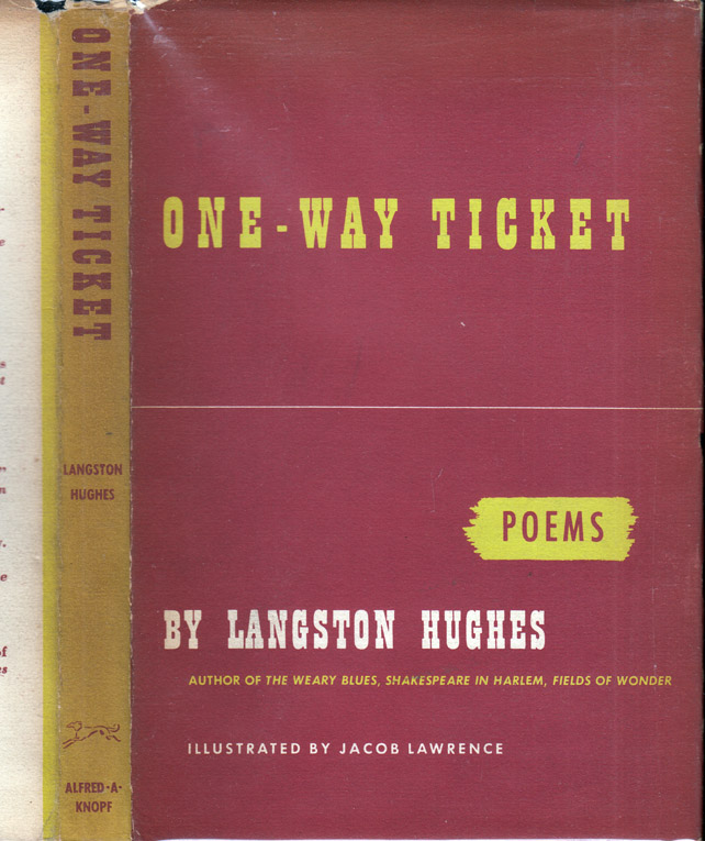 One-Way Ticket. Langston HUGHES
