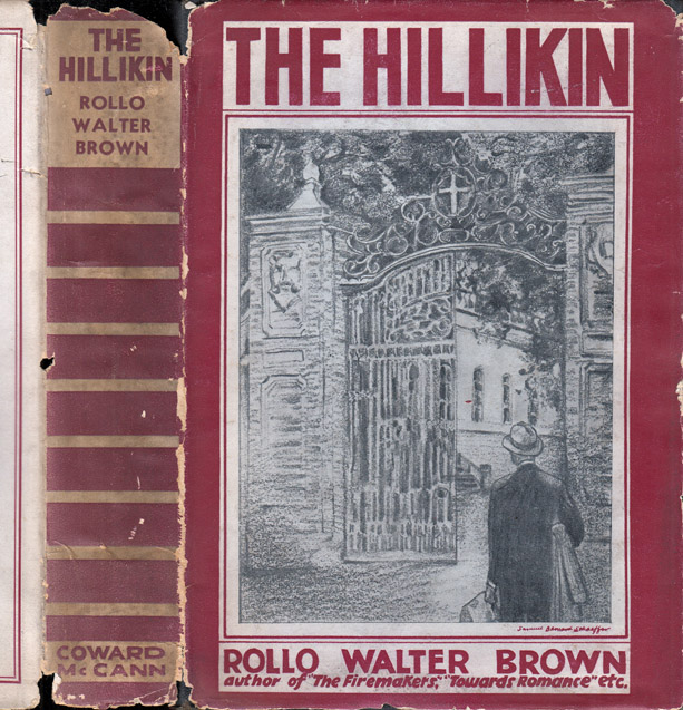 The Hillikin. Rollo Walter BROWN.