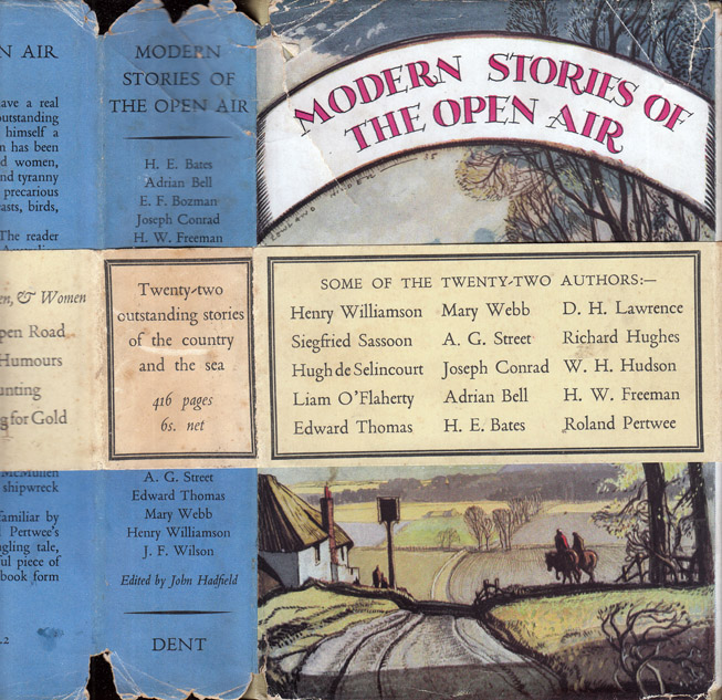 Modern Stories of the Open Air. Joseph CONRAD, Liam O'FLAHERTY, Adrian BELL, Richard HUGHES D. H....