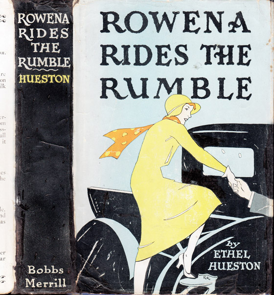 Rowena Rides the Rumble. Ethel HUESTON
