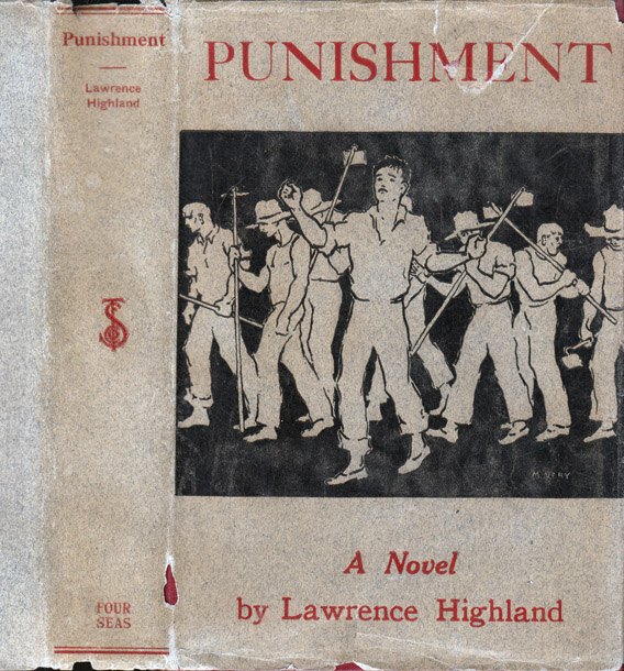 Punishment [SIGNED AND INSCRIBED]. Lawrence HIGHLAND