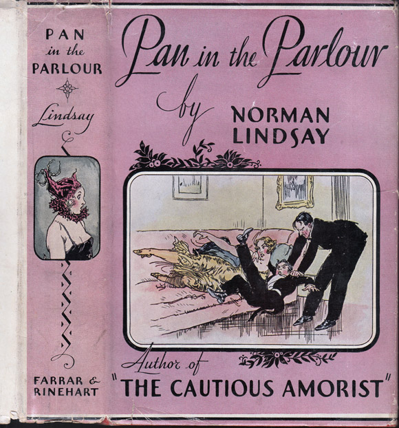 Pan in the Parlour. Norman LINDSAY