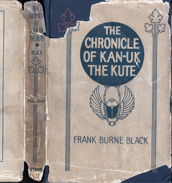 The Chronicle of Kan-Uk the Kute. Frank Burne BLACK
