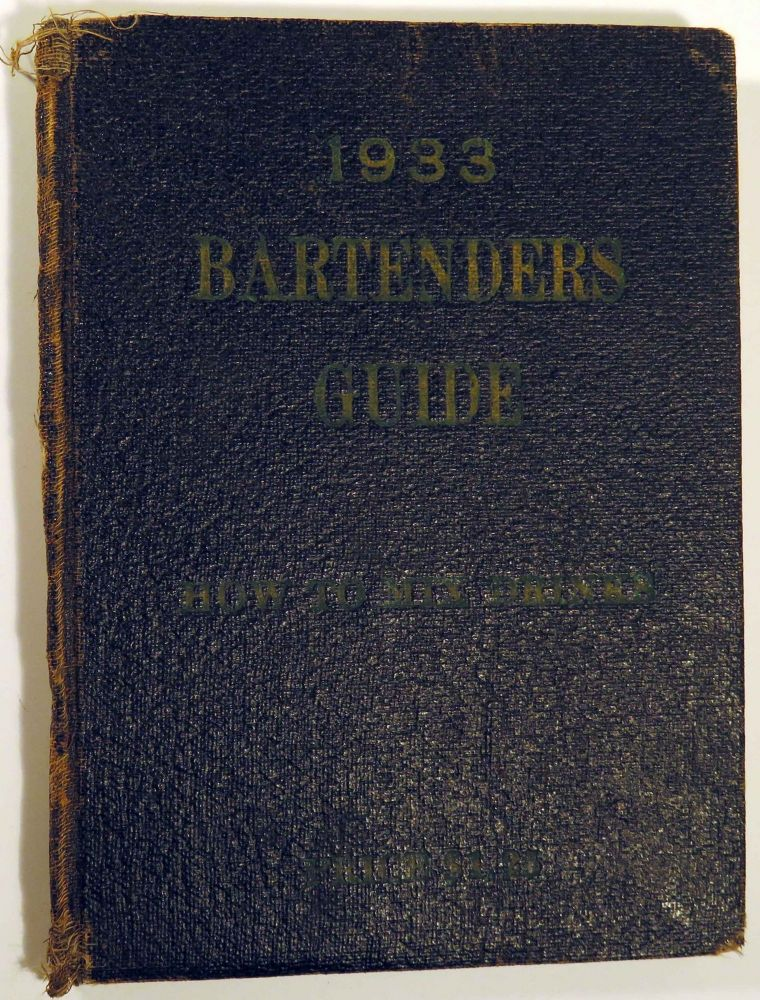 Bartenders' Guide, How To Mix Drinks [Wehman Bros.'] [COCKTAIL RECIPES]. COAST TO COAST