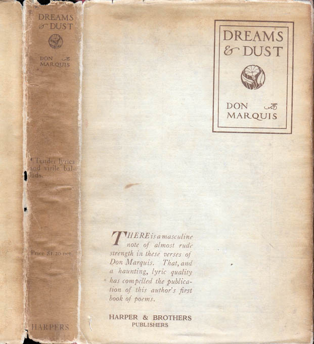 Dreams and Dust Poems. Don MARQUIS.