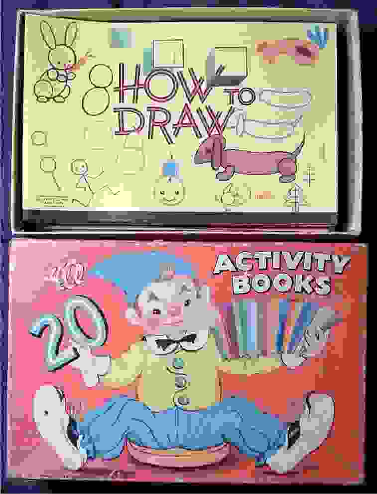 Twenty Activity Books. ACTIVITY BOOKS