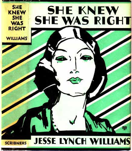 She Knew She Was Right. Jesse Lynch WILLIAMS