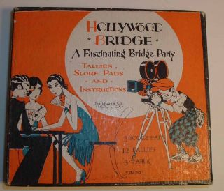 Hollywood Bridge: A Fascinating Bridge Party: Tallies, Score Pads and Instructions