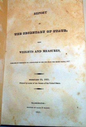 Bound Volume of State Papers including Message from the President of the United States, Transmitting, (Pursuant to a resolution of the Senate, of the 18th January, 1819,) A Report from the Secretary of State, Together with the Returns of Causes Depen