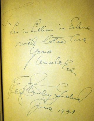 The Case of the Fan-Dancer's Horse [SIGNED AND INSCRIBED]