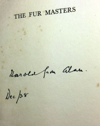 The Fur Masters [SIGNED AND INSCRIBED]