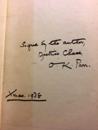 Patricia Lancaster's Revenge [SIGNED AND INSCRIBED]