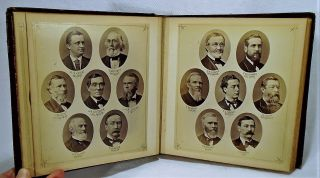 Massachusetts House of Representatives 1877 Yearbook Photographs