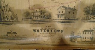 Map of the Town of Watertown, Litchfield County, Conn [Connecticut]