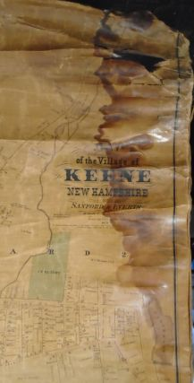Map of the Village of Keene, New Hampshire
