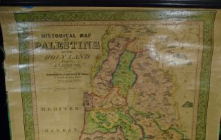 Historical Map of Palestine or the Holy Land
