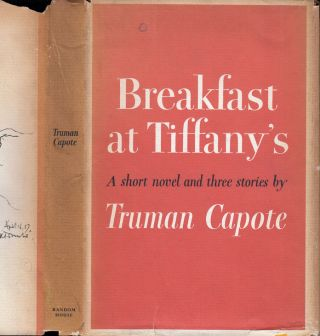Breakfast at Tiffany's [SIGNED AND INSCRIBED]