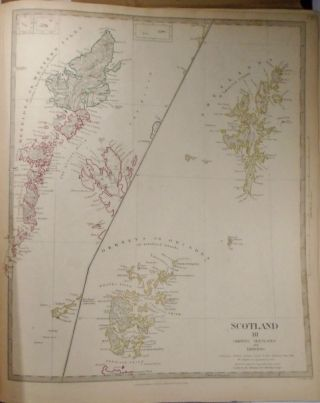 Three Maps of Scotland, Scotland I-III