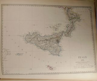 A General Map of Italy, Italy IV and Two Additional Maps of Italy
