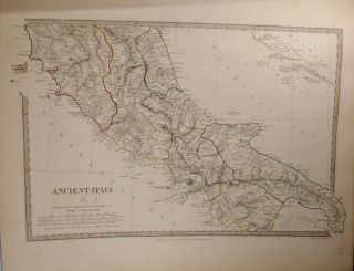 Two Maps of Ancient Italy