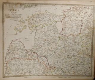 Eight Maps of Russia, Sweden, and Norway.