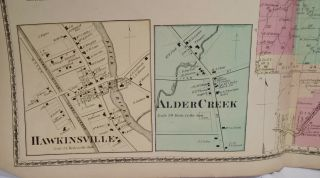 Map of Boonville, New York