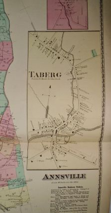 Map of Annsville, Oriskany Falls, and Taberg, New York