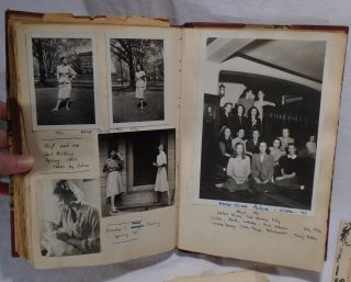 Anna P. Howes Diary and Scrapbook, Brookline Massachusetts Resident, Photograph Album: Beaver Country Day School, World War Two, Oberlin College